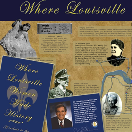 Map Where Louisville Women Made History